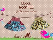 ebook Rock FEE mit Taschen Gr. 74/80-122/128