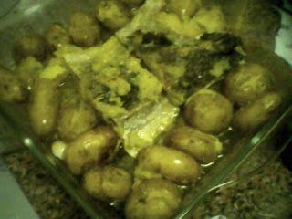 Cozinhar por amor: Bacalhau à Lagareiro na Bimby