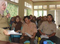 Pelatihan Tenaga Entry Data untuk Mendukung Pelaksanaan Studi EHRA di Kabupaten Way Kanan, Provinsi Lampung
