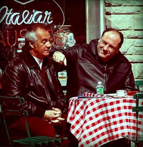 """Tony Soprano and Paulie """"Walnuts"""""""