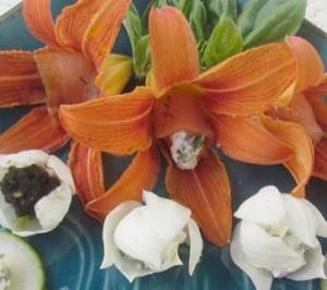 Flower tapas