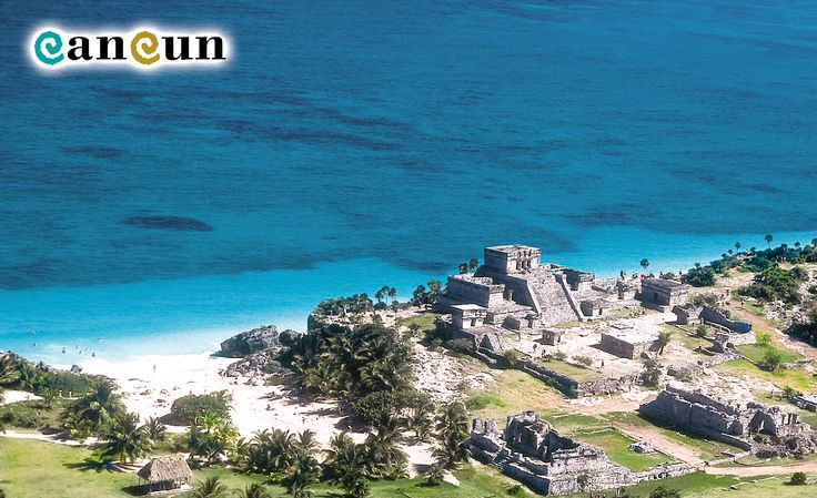 One of the most beautiful archaeological sites, Tulum sits next to an incredible beach!
