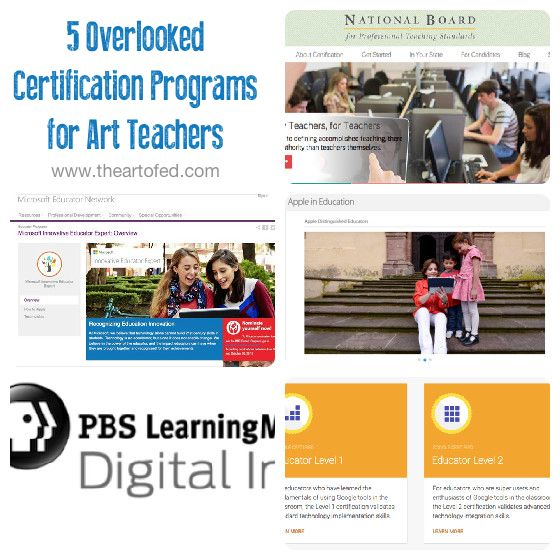 accessories fashion shop 5 Overlooked Certification Programs for Art Teachers