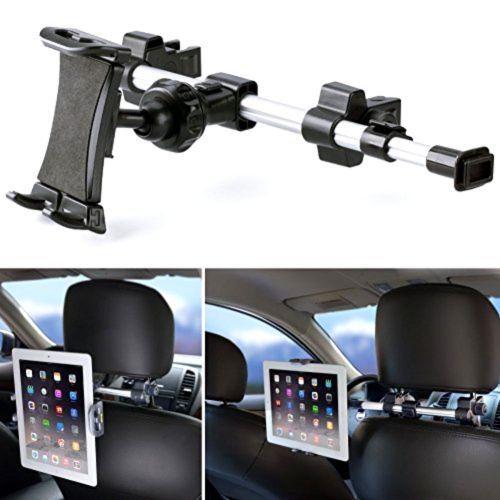 Universal Tablet Holder Mount Car Headrest Back Seat Stand Travel iPad Samsung