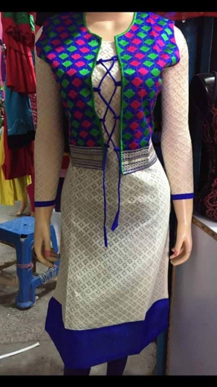 17 Best Kurta Jackets Images On Pinterest Indian Suits India