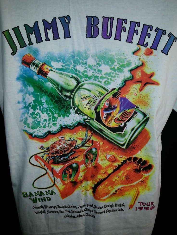 Jimmy Buffett Tour Shirts