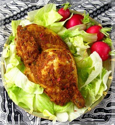 Indonesian Recipe : BETUTU CHICKEN Betutu (goby) is a side dish made from chicken or duck a whole that contains spices, then roasted in the ...