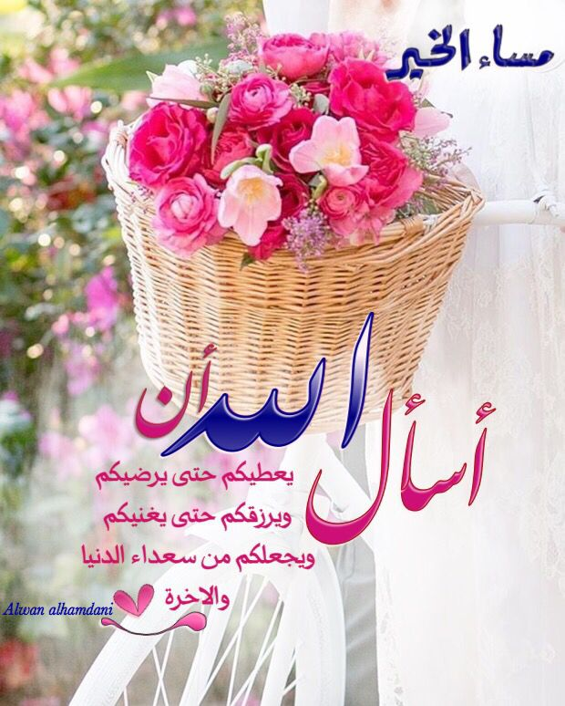 Pin By Alwan Alhamdani On مساء الخير Wedding Flower Pictures Good Morning Images Islamic Pictures
