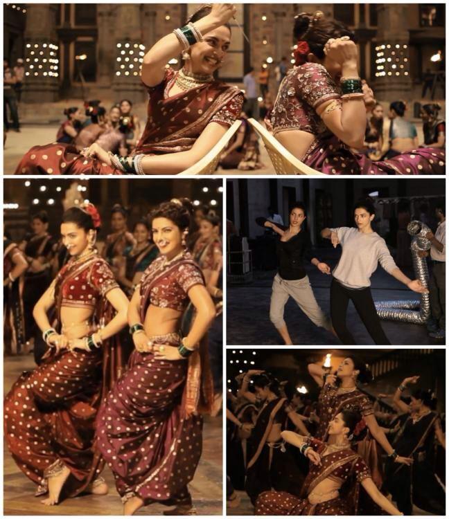 Watch: Deepika-Priyanka's tantrums in #Pinga making video!