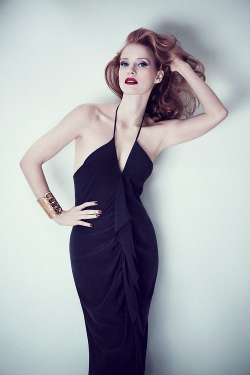The lovely Jessica Chastain joins me today on Katie - click through for pictures!!