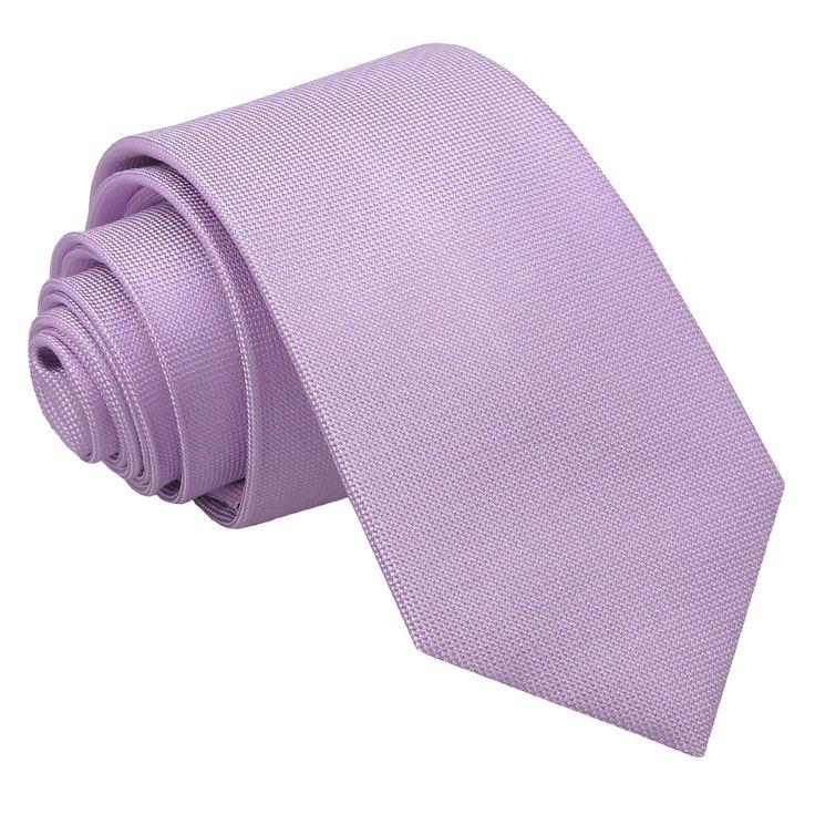 JA Panama Silk Lilac Slim Tie