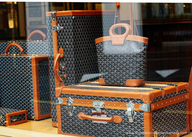Goyard luggage -i need a trunk for clothes for school