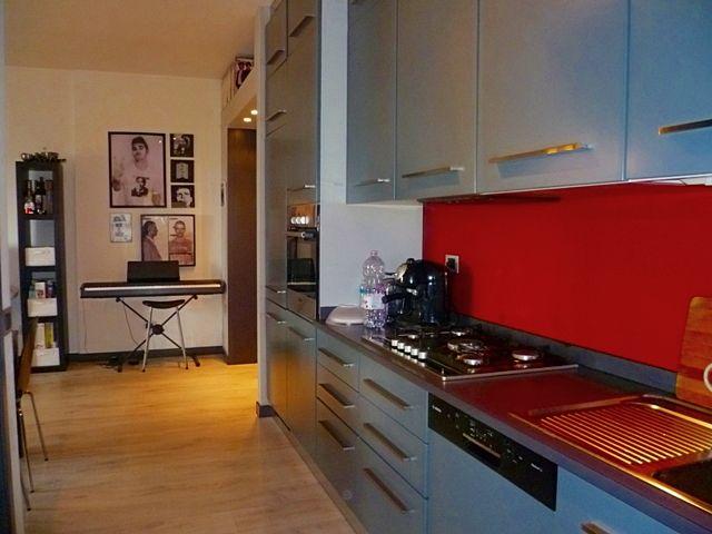 La cucina del moderno appartamento che proponiamo a Padova.