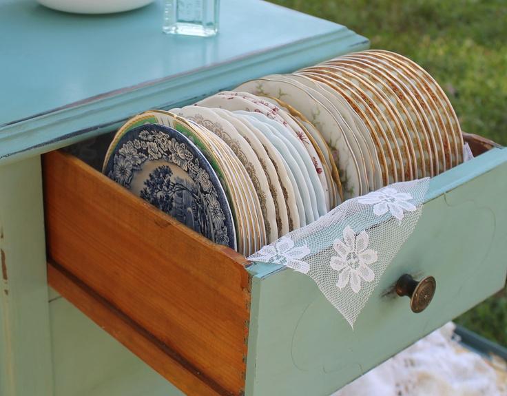 Vintage dessert plates- Southern Vintage Wedding Rentals