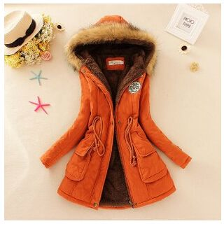 Winter women coat Women's Parka Casual Outwear Military Hooded fur Coat Down Jackets Winter Coat for Female CC001 Do you want it Visit us