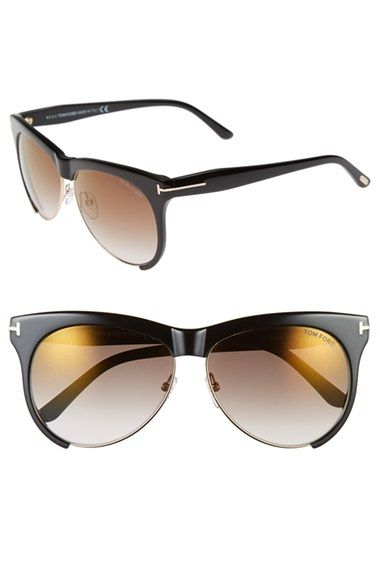 Tom+Ford+'Leona'+59mm+Sunglasses+available+at+#Nordstrom
