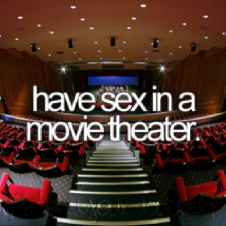 How to have sex in a movie theater foto 22