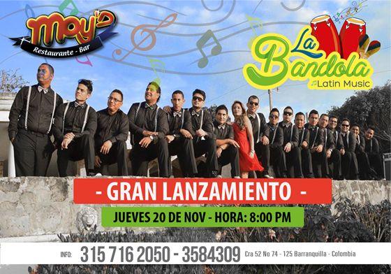 Hoy en Moy´s La Bandola Latin Music – Gran Lanzamient