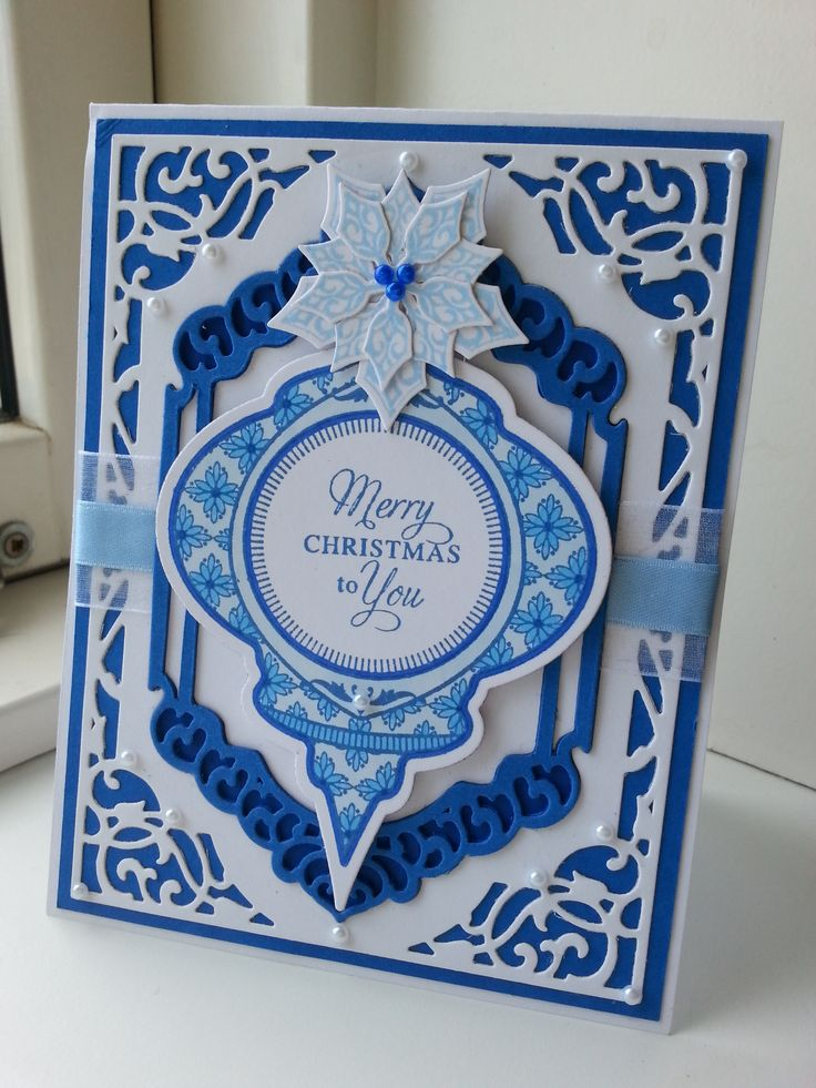 Christmas Card for Just Rite Friday Challenge