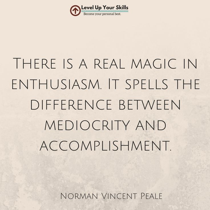 There is a real magic in enthusiasm. #Inspiration #Success https://levelupyourskills.com/quotes/success-quotes/nggallery/page/2/