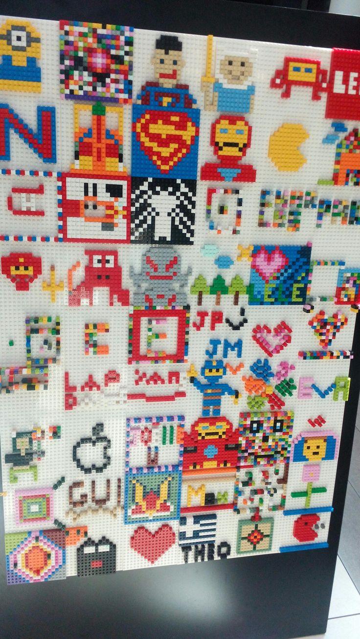 Lego Wallpaper For Bedroom Walls 17 Best Ideas About Lego Wall Art On Pinterest Art Wall Kids