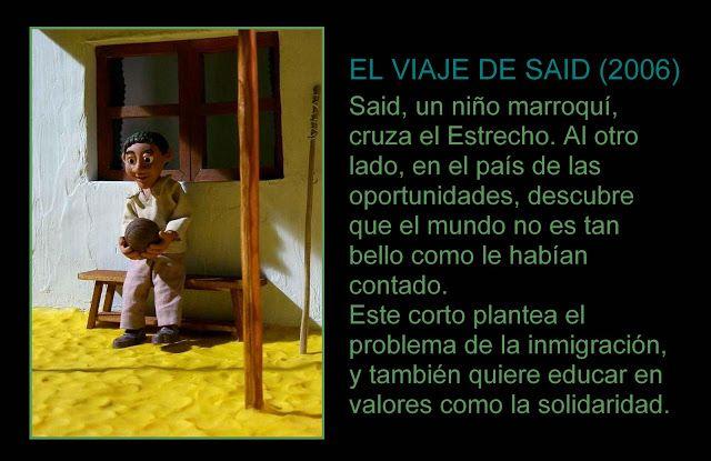 """""""El viaje de Said"""" Vídeo de valores #vídeo #valores #solidaridad #inmigración"""