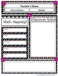 Best 25+ Newsletter template free ideas on Pinterest | Classroom ...