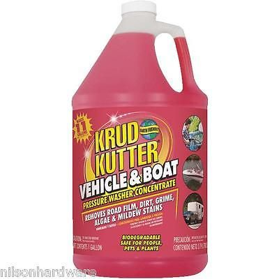4 Gal Krud Kutter Car Vehicle & Boat Concentrate Pressure Washer Cleaner VB014