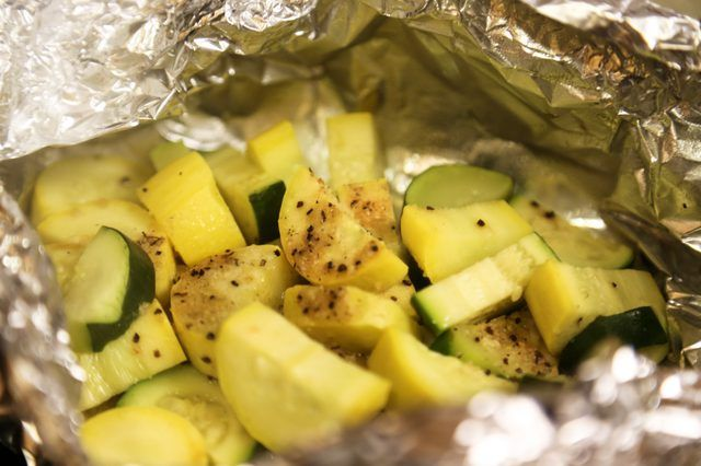 How to Grill Squash and Zucchini in Foil