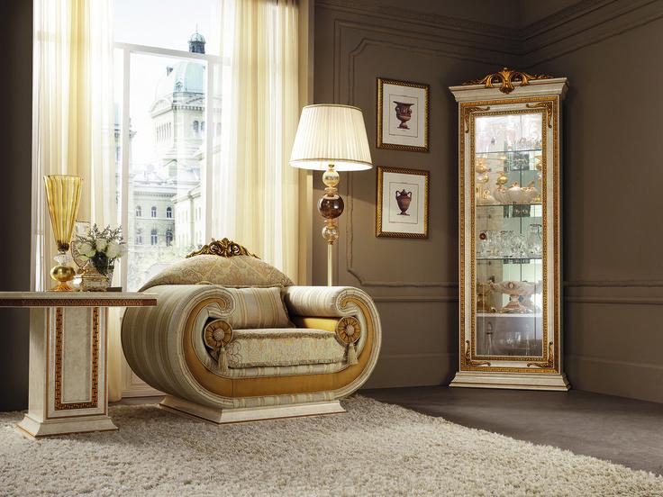 Leonardo Collection Living Room, Armchair www.arredoclassic.com/living-room/sofas-leonardo