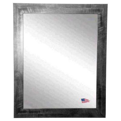 Rayne Mirrors Black Smoke Traditional Wall Mirror - V045S, Durable