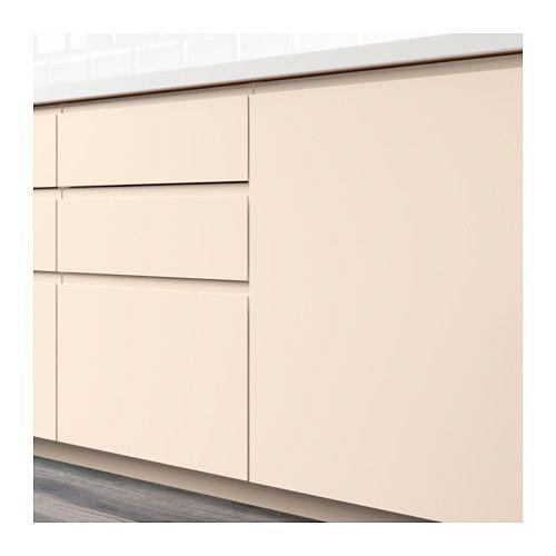 VOXTORP Porte élément bas d'angle, 2pcs - droite beige clair - IKEA