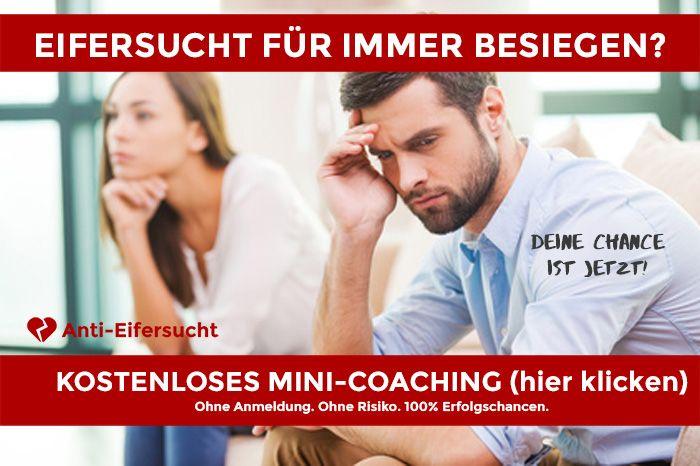 KOSTENLOS! Mini Coaching um Eifersucht besiegen zu können für immer!