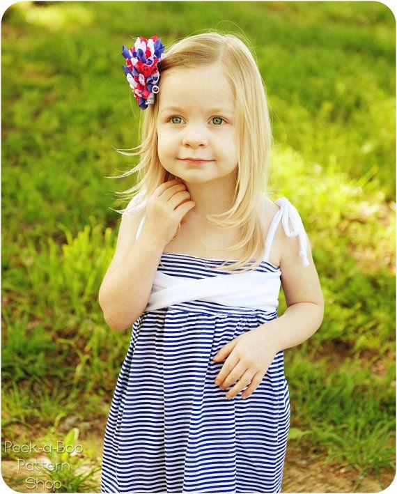 Ivy Sun Dress Girls Dress Pattern Baby & by PeekabooPatternShop, $7.95