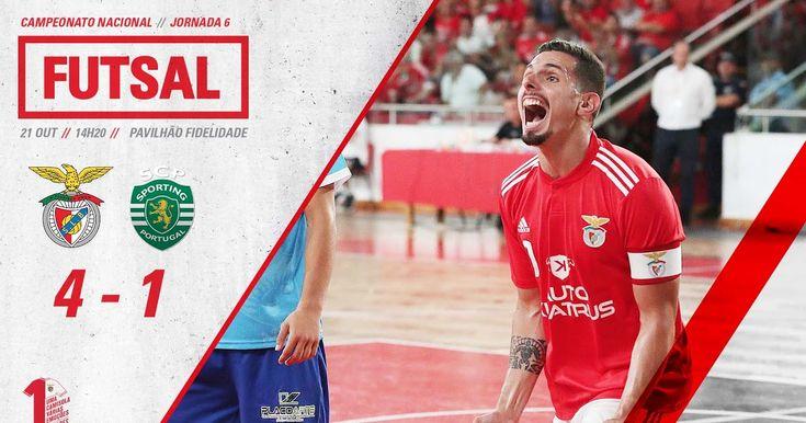 A Equipa De Futsal Do Benfica Venceu Hoje O Sporting Por 4 1com