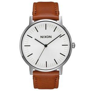 Nixon Watches - Nixon Porter Leather Watch - Brown