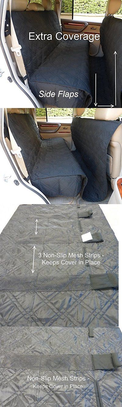 Car Seat Covers 117426: Seat Covers For Dogs Waterproof Protector Back Seat Pet Hammock Cars Suvs Trucks -> BUY IT NOW ONLY: $51.43 on eBay!