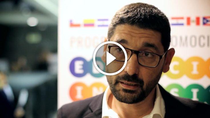 Entrevista realizada en el marco del Seminario para la Promoción de la Educación Inclusiva en las Américas OEA-ORITEL celebrado en Montevideo (Uruguay).