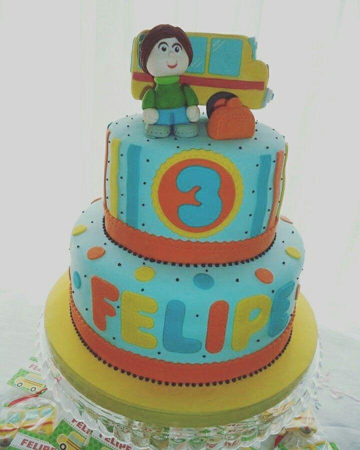 Torta 3 años