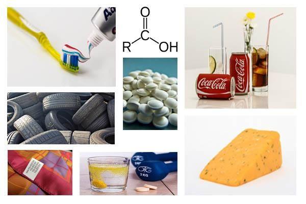 30 Usos De Los ácidos Carboxílicos En La Vida Cotidiana Quimica Organica Fórmula Química Acida