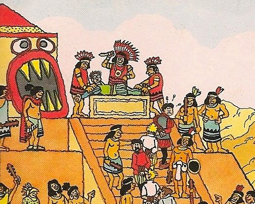 Aztecs sacrifices