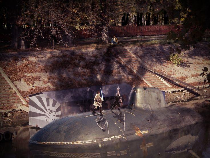 Duel On The Submarine - http://photoshopcontest.com/view-entry/198332/duel-on-the-submarine.html