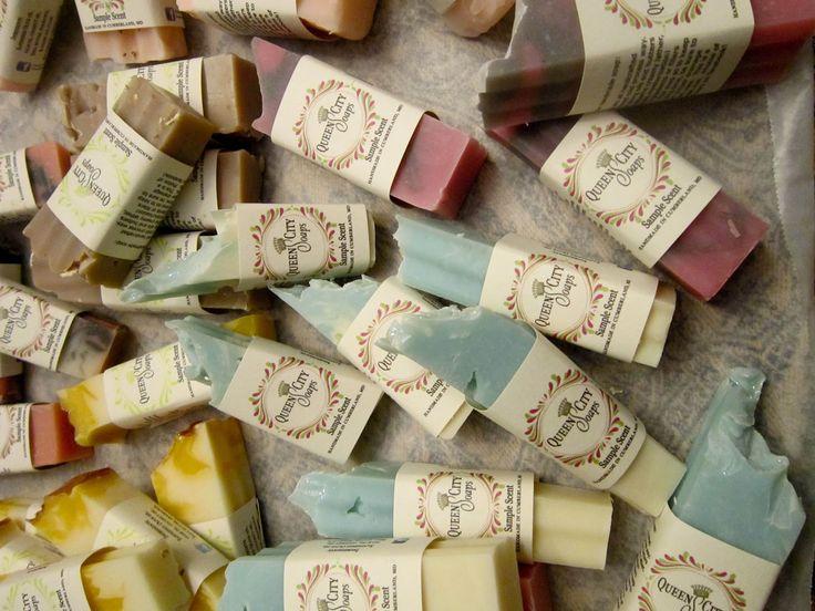 Makeup Sale on My Blog!: Soap Samples