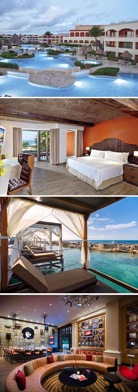 Een gigantisch luxe vijfsterren hotel met meerdere zwembaden, ruim 1200 kamers én een all inclusive formule; dat is Hard Rock Hotel Riviera Maya, een geliefde accommodatie in Mexico. Relax op het witte zandstrand tegenover het hotel en kom helemaal tot rust in je eigen bubbelbad op de kamer!