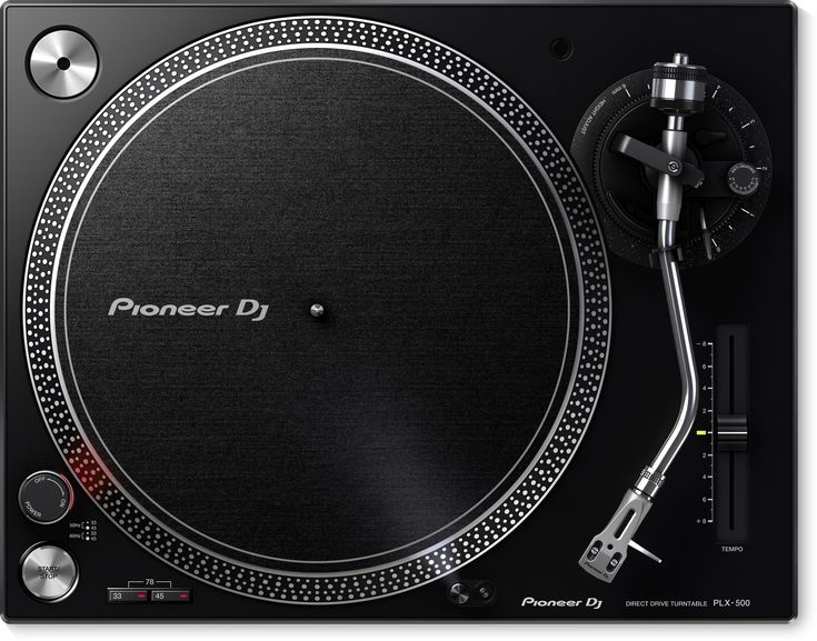 Pioneer DJ PLX-500 Turntable - Black [PLX-500-K] - DJ Turntables: The Pioneer DJ PLX-500 inherits the layout of the PLX-1000 professional turntable and produces a warm, clear analogue sound. The perfect deck if you want to start playing with vinyl or if you just want to listen to your record collection at home. Get yours at AVShop.ca! Solidly built with excellent