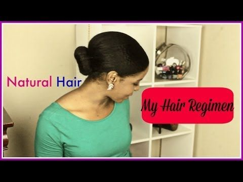 ❤ 2014 My Simple Hair Regimen ❤ Staying Fit With Natural Hair