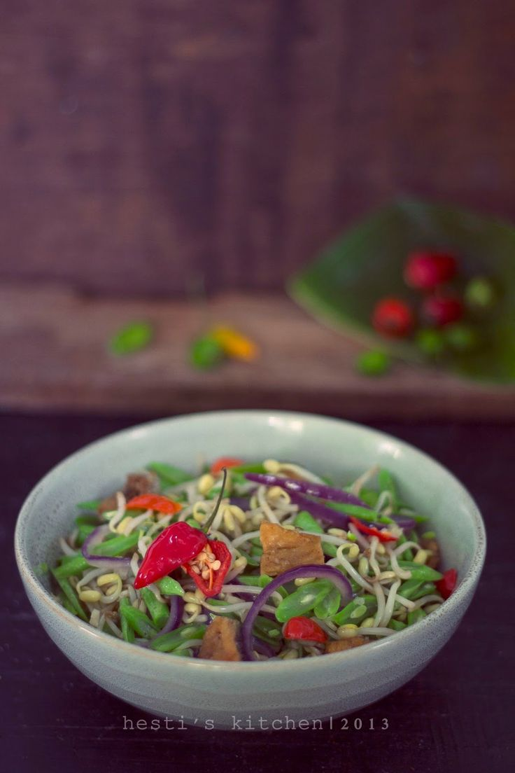 HESTI'S   KITCHEN : yummy for your tummy: Oseng Tauge Buncis & Ikan Asin