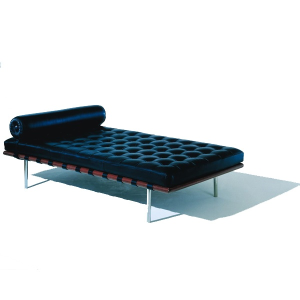 BARCELONA DAY BED BY MIES VAN DER ROHE  sc 1 st  Pinterest : day chaise - Sectionals, Sofas & Couches