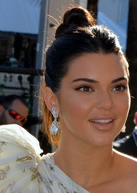 Kendall Jenner, 1995 fashion model, television personality.