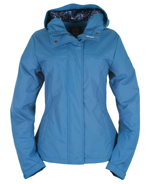 Camilla, Ladies Waterproof Jacket in Topaz Blue (see more colours at www. Toggi